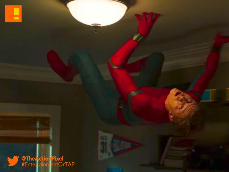 teaser, clip, mtv, spiderman, poster spider-man: homecoming, spider-man, spiderman, homecoming, marvel, marvel comics, disney, marvel studios, sony, the action pixel, entertainment on tap, tom holland, images