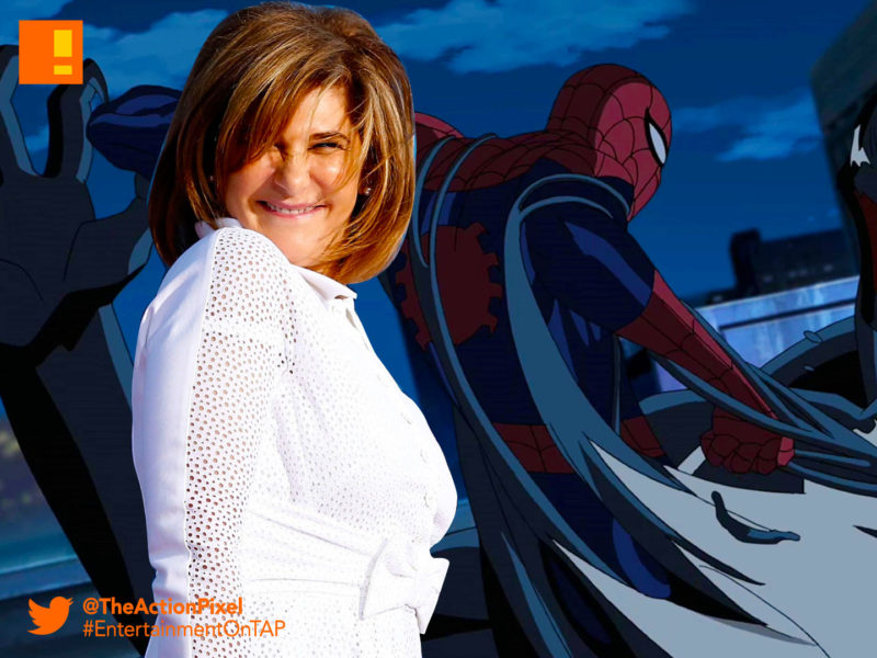 amy pascal, sony ,sony pictures, spider-man, venom, black cat, marvel, marvel comics, mcu,marvel cinematic universe, tom holland, tom hardy