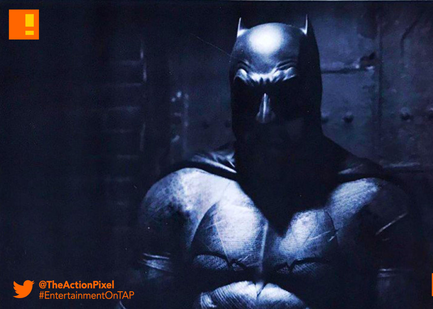 Zack Snyder teases the Dark Knight cowl… | The Action Pixel
