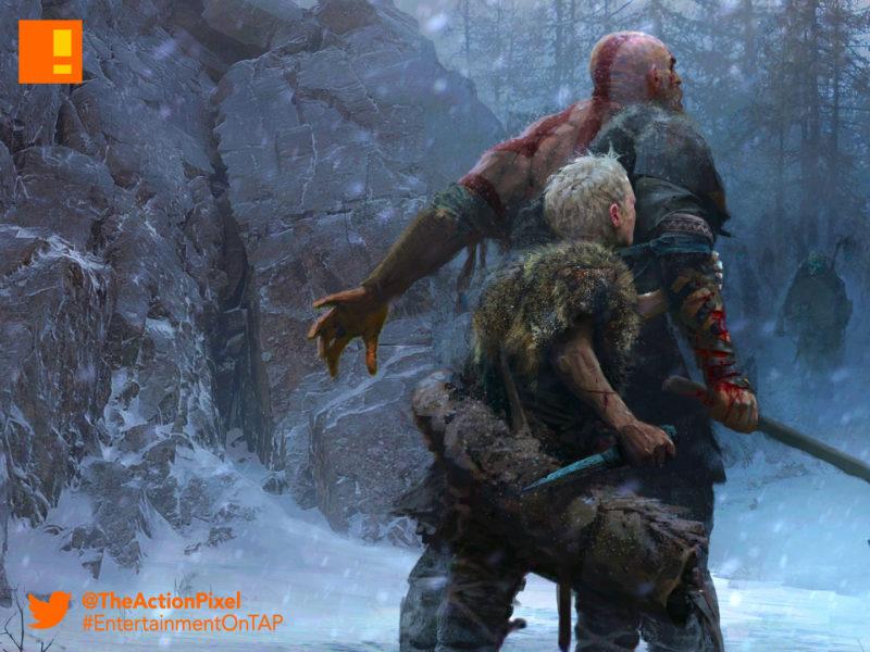 kratos, god of war, the action pixel, entertainment on tap, god of war, kratos, santa monica, the action pixel, norse, entertainment on tap,e3, e3 2017, electronic entertainment expo,
