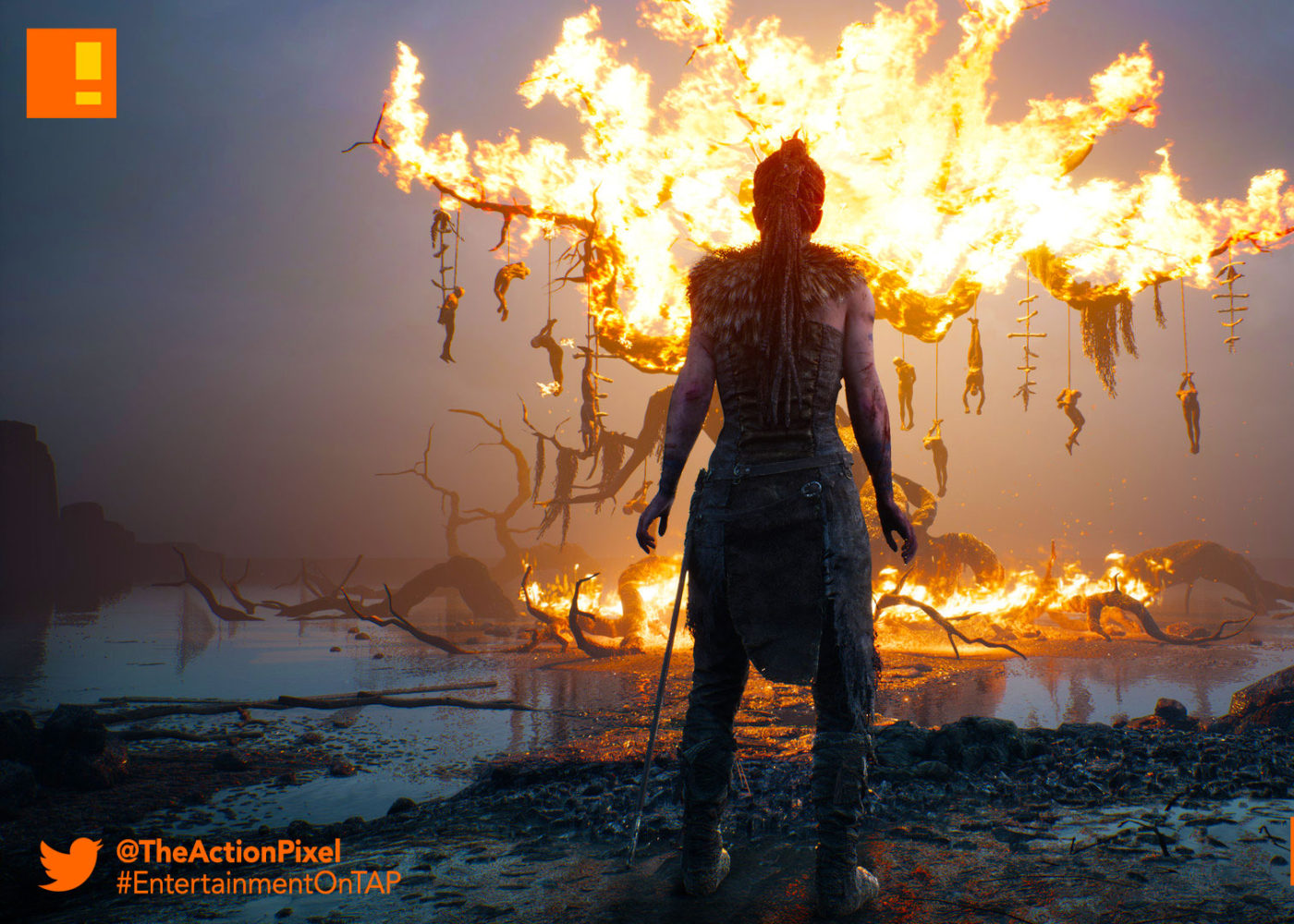 ninja theory,hellblade,senua's sacrifice, Hellblade: Senua's Sacrifice, the action pixel,