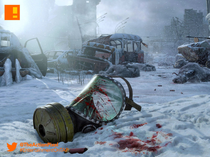 metro exodus, deep silver, e3 , electronic entertainment expo,e3 2017, russia, the action pixel, entertainment on tap, Metro 2035 , Dmitry Glukhovsky