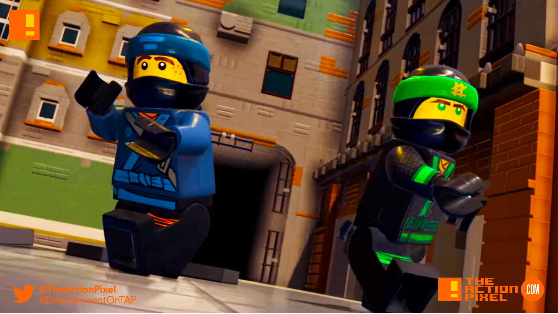 The Lego Ninjago Movie Video Game Announce Trailer Stacks
