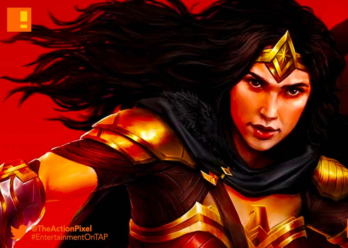 wonder woman, dc legends, the action pixel, dc comics, the action pixel, entertainment on tap