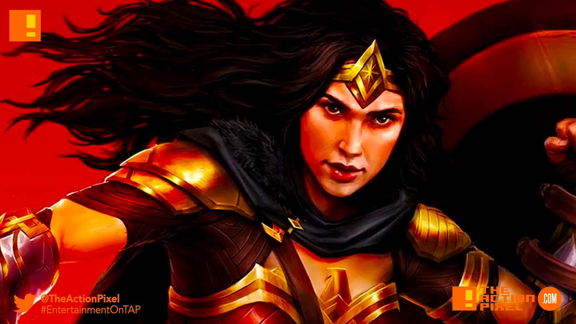 wonder woman, dc legends, the action pixel, dc comics, the action pixel, entertainment on tap