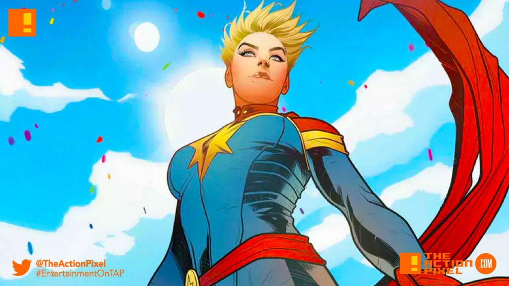 captain marvel, brie larson, marvel,marvel comics,marvel entertainment, the action pixel,entertainment on tap,