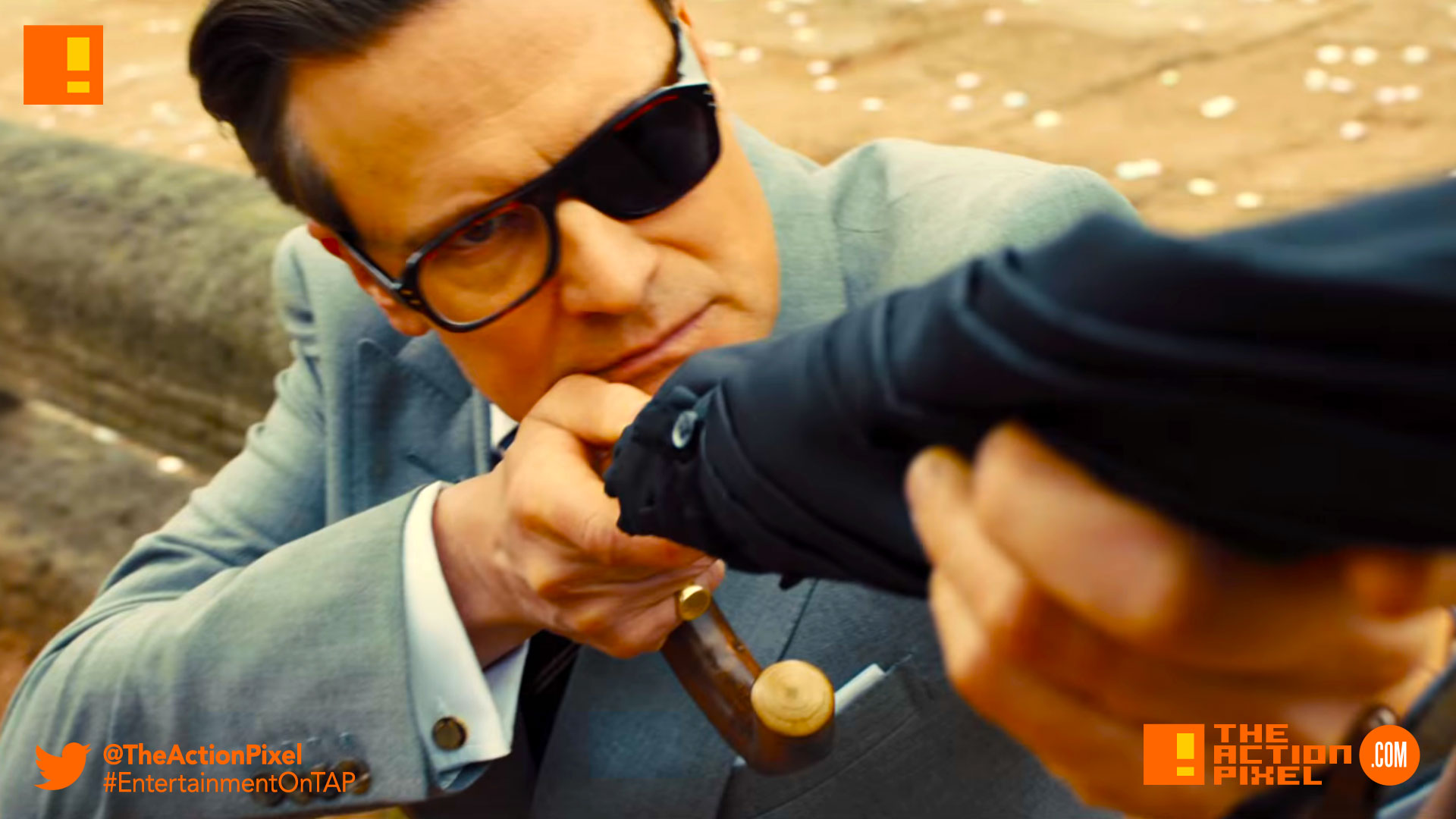 colin firth, kingsman, the golden circle, kingsman, the golden circle, kingsman 2, kingsman the golden circle, kingsman: the golden circle, eggsy, entertainment on tap, the action pixel