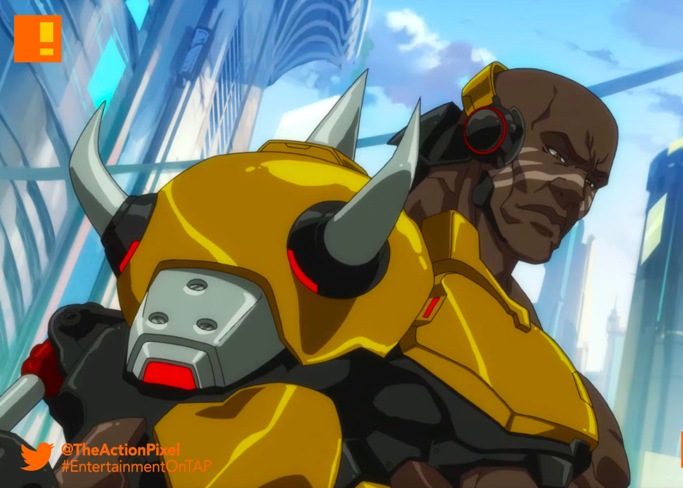doomfist, overwatch, blizzard entertainment, blizzard, the action pixel, entertainment on tap, @theactionpixel