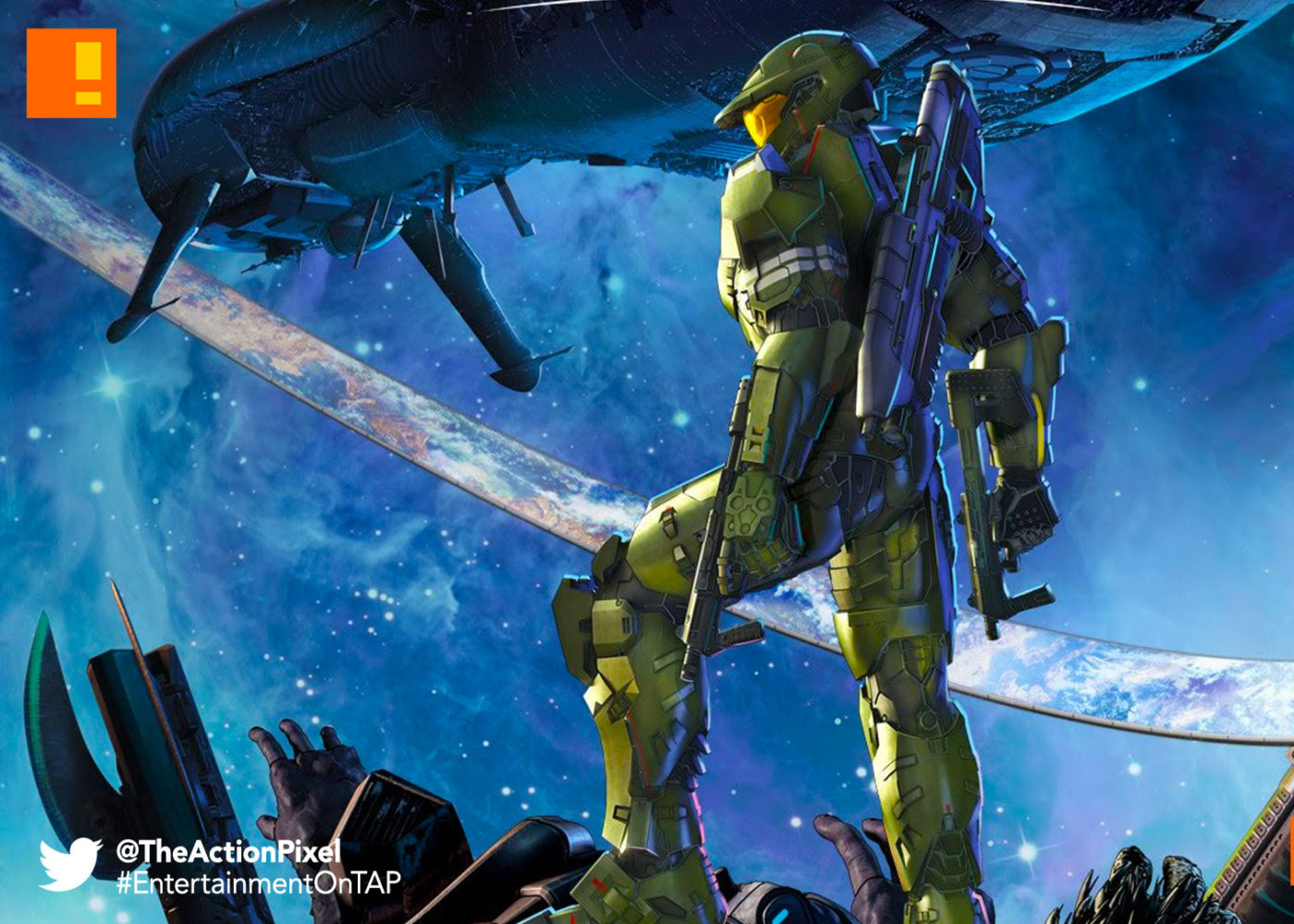 halo legends, halo , 343 industries, the action pixel, entertainment on tap, vod,