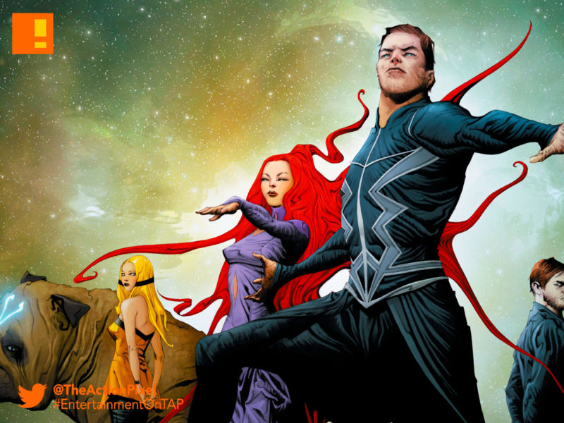 jae lee, sdcc, san diego comic con, inhumans, Black Bolt, Medusa, Maximus,poster, marvel, imax, the inhumans, marvel's inhumans,the action pixel, entertainment on tap