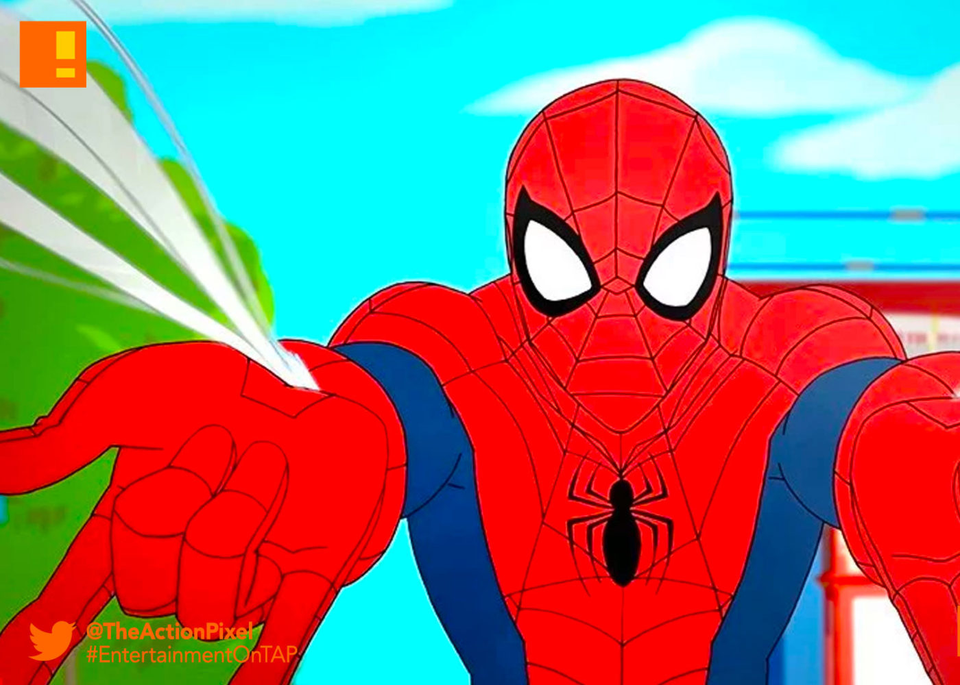 spider man, disney, marvel, disney xd, sneak peek, preview, peter parker, scorpion, nyc subway, the action pixel, entertainment on tap