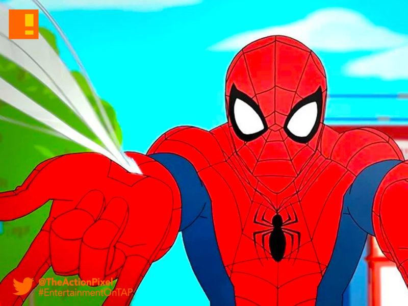 spider man, disney, marvel, disney xd, sneak peek, preview, peter parker, scorpion, nyc subway, the action pixel, entertainment on tap