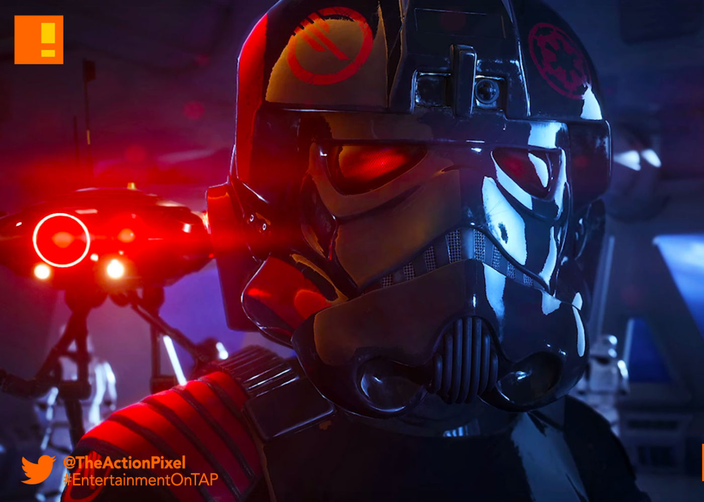 star wars, star wars: battlefront ii, star wars battlefront II, BATTLEFRONT II, battlefront 2, kylo ren, trailer, ea, dice games, ea dice, the action pixel, entertainment on tap,behind the story, bts,