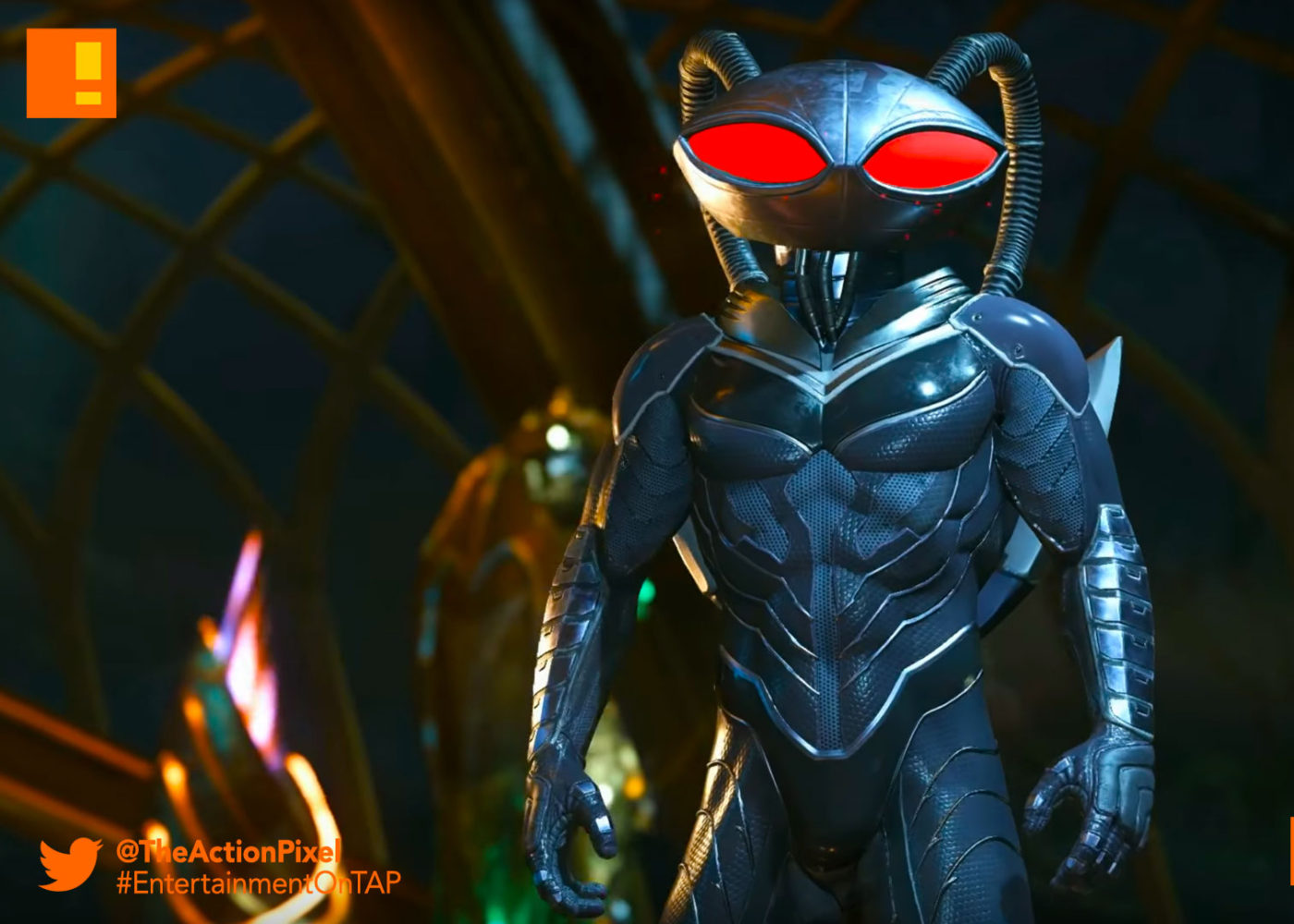 black manta, injustice 2, the action pixel, dc comics, netherrealm studios, wb games, aquaman, fighter pack 2, dlc, the action pixel, entertainment on tap