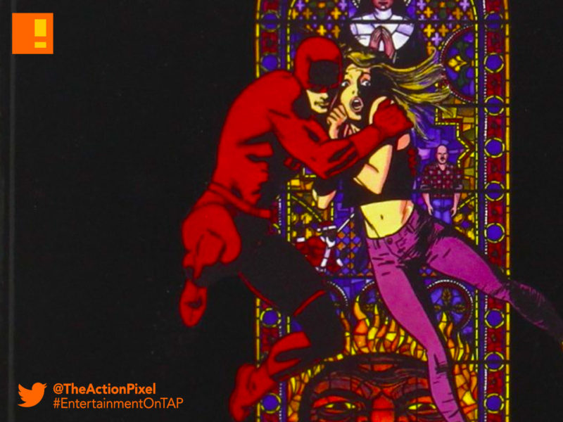 dardevil ,born again, frank miller, the action pixel, marvel comics , entertainment on tap