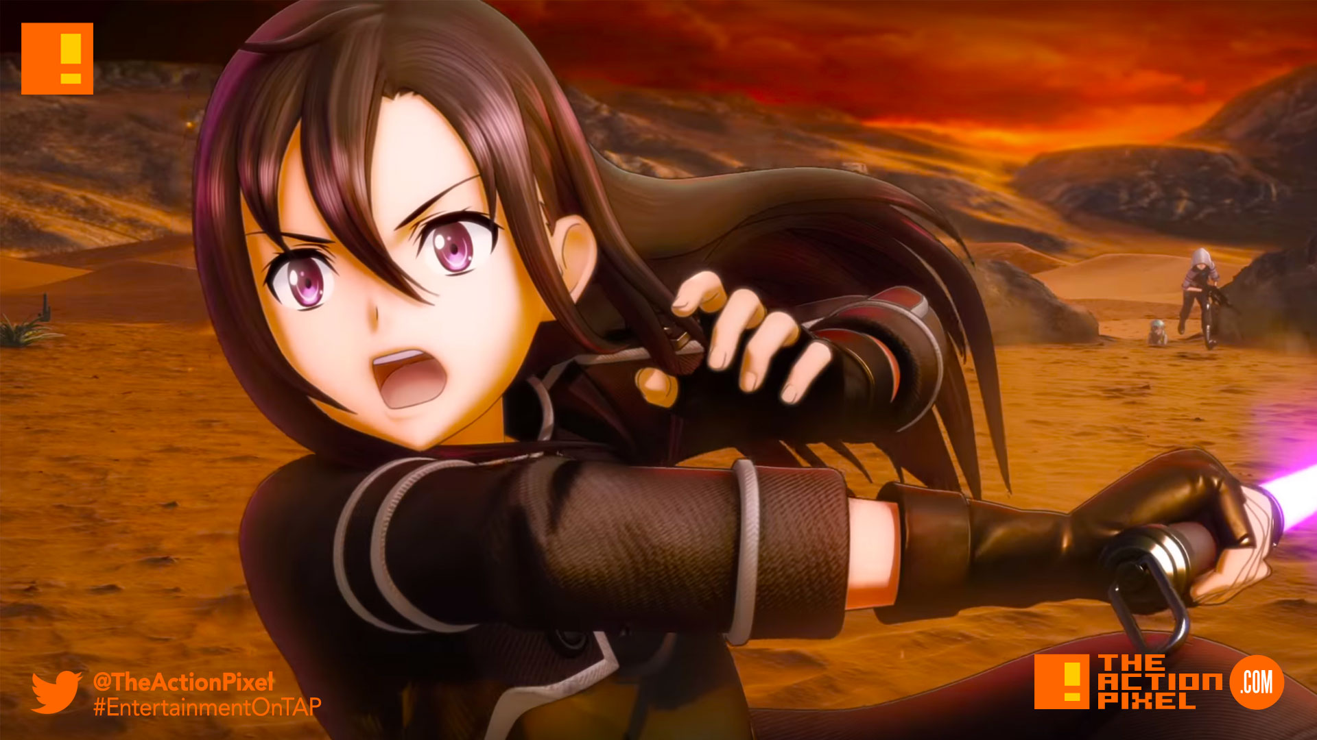 sao, sword art online, sword art online: fatal bullet, bandai namco entertainment , bandai namco, the action pixel, entertainment on tap,