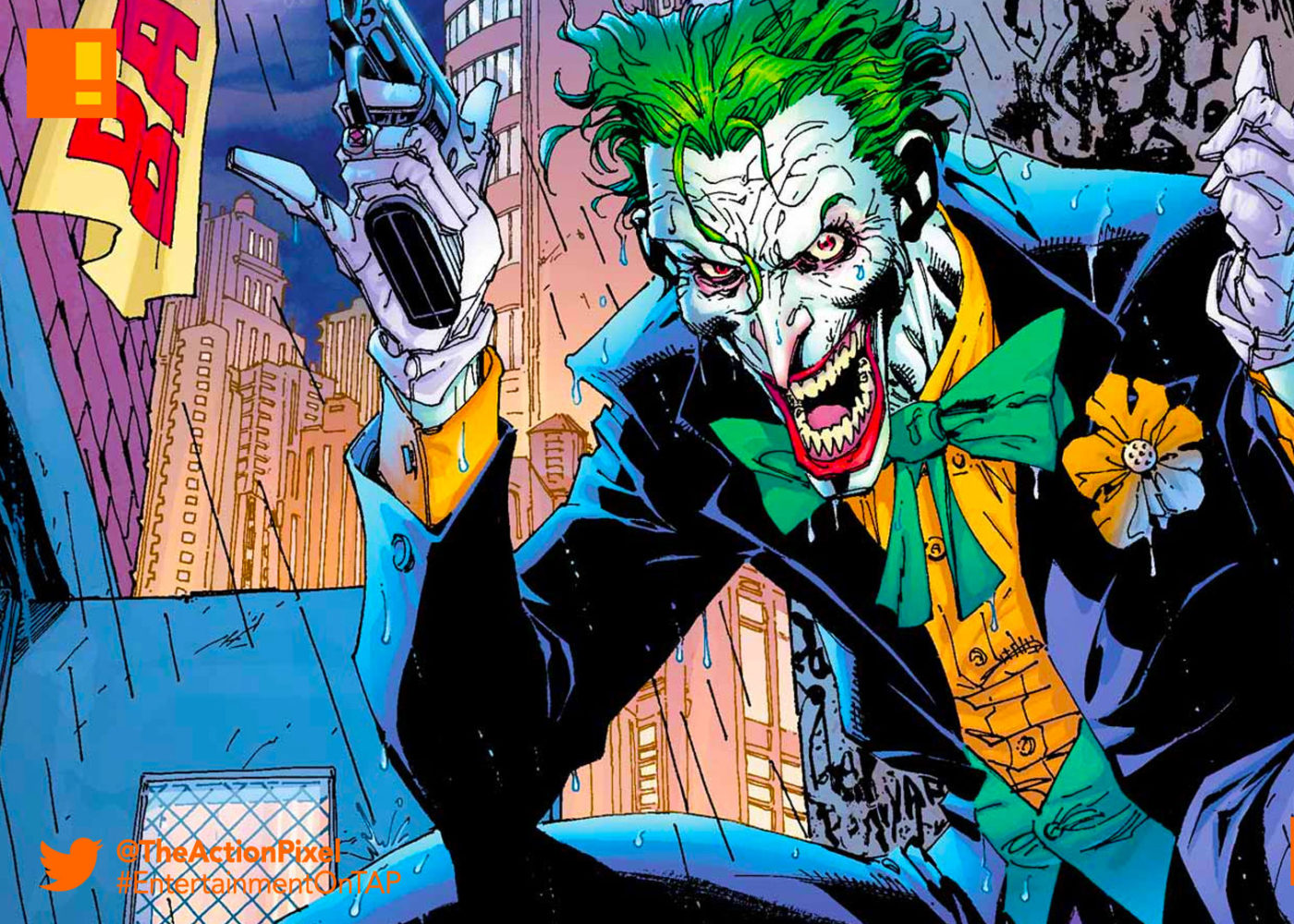 joker, dc comics, the action pixel, entertainment on tap,