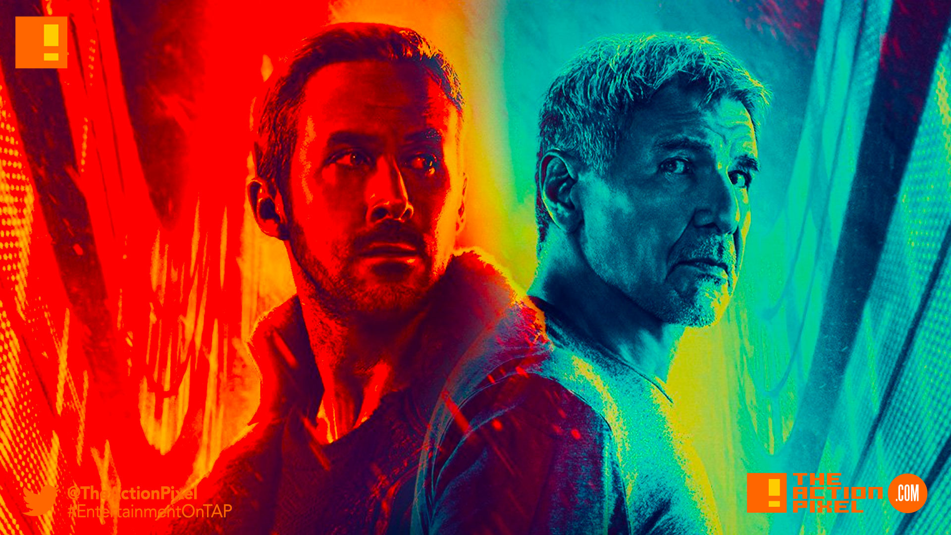 imax, blade runner 2049, ryan gosling, harrison ford, trailer, sony, columbia, icon, warner bros. entertainment , the action pixel, entertainment on tap, rick deckard,blade runner,poster, teaser, warner bros, columbia,ridley scott