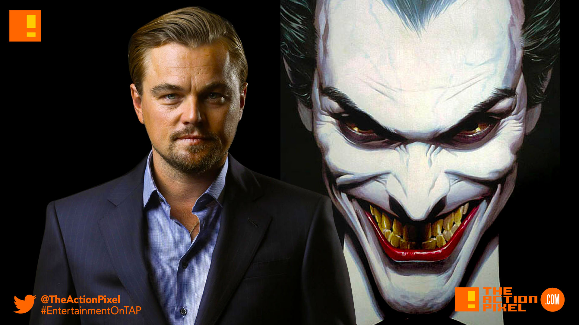 leonardo dicaprio, Joker, joker origins movie, joker, dc comics, the action pixel, entertainment on tap, batman ,dc comics, warner bros pictures, martin scorcese, jared leto,