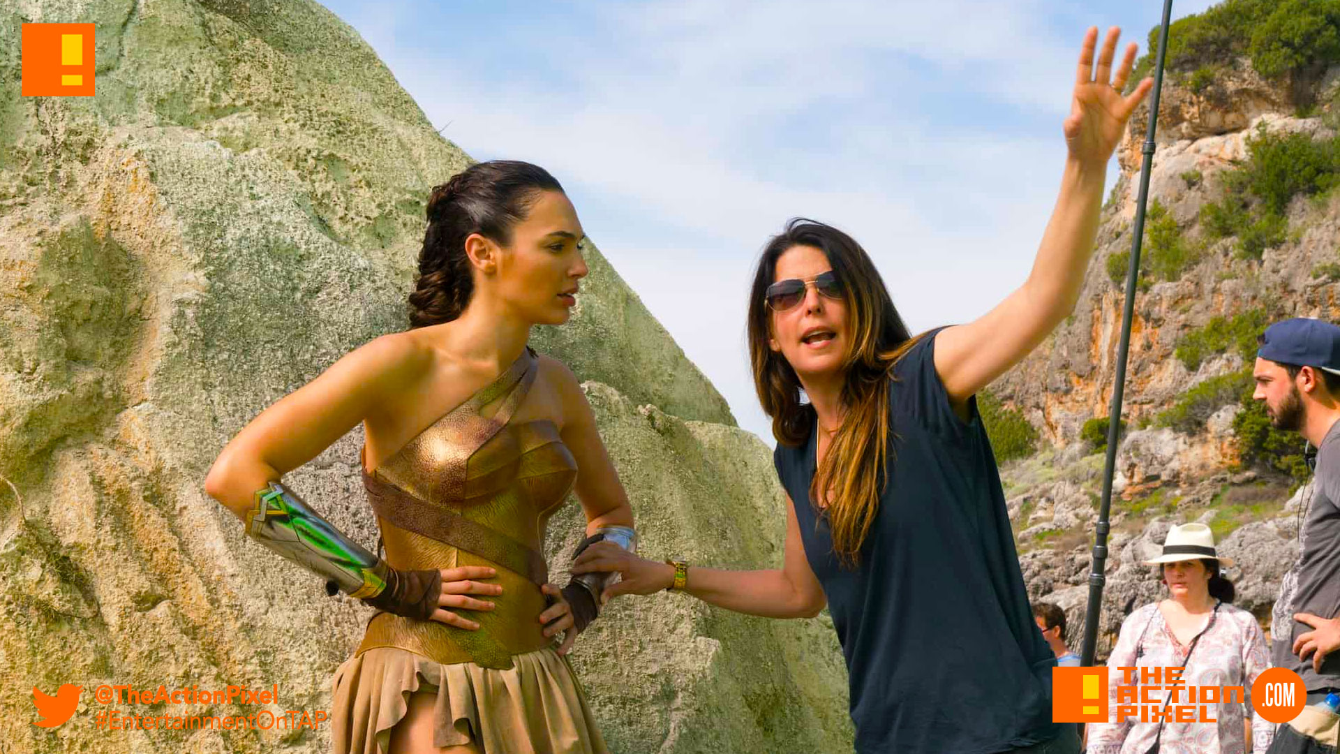 patty jenkins, wonder woman, dc comics, the action pixel, entertainment on tap, patty jenkins, gal gadot, wonder woman