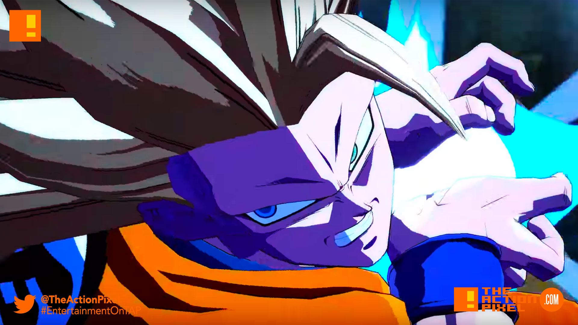 goku, vegeta, dragon ball fighterz, dragon ball z, bandai namco, e3 2017 Entertainment on tap, Electronic Entertainment expo, the action pixel, bandai namco, bandai namco entertainment, the action pixel, goku, buu, gohan, piccolo, vegeta, maajin buu, frieza
