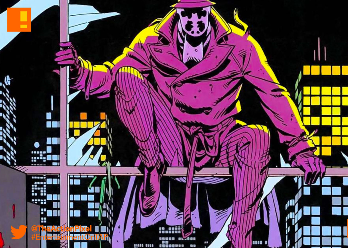 Watchmen, dave gibbon, alan moore, dc comics, the action pixel,@theactionpixel, graphic novel, hbo, tv series, pilot,damon lindelof