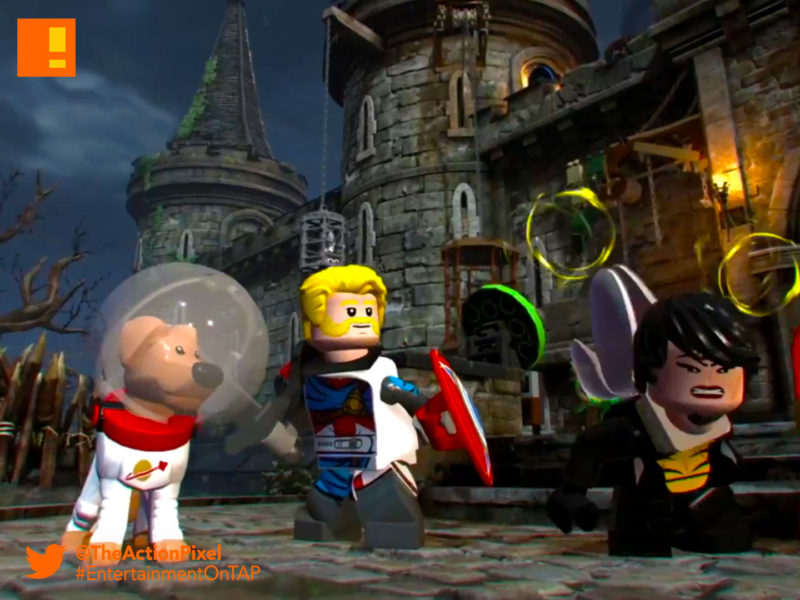 cosmo, marvel ,lego ,super heroes, lego marvel super heroes, marvel comics, lego marvel super heroes 2, the action pixel, cosmo, trailer, entertainment on tap