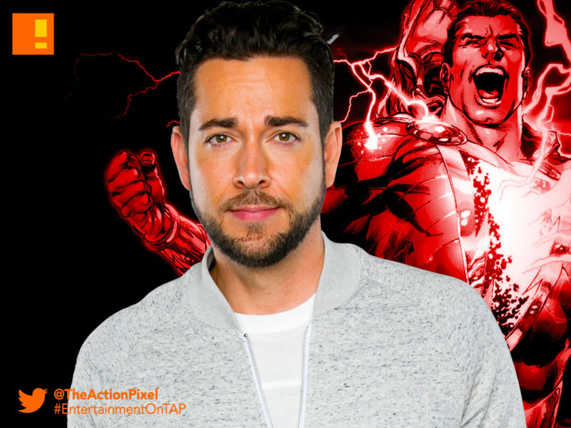 zachary levi, dc comics, shazam!, captain marvel, the action pixel, entertainment on tap, new line cinema, the action pixel, entertainment on tap