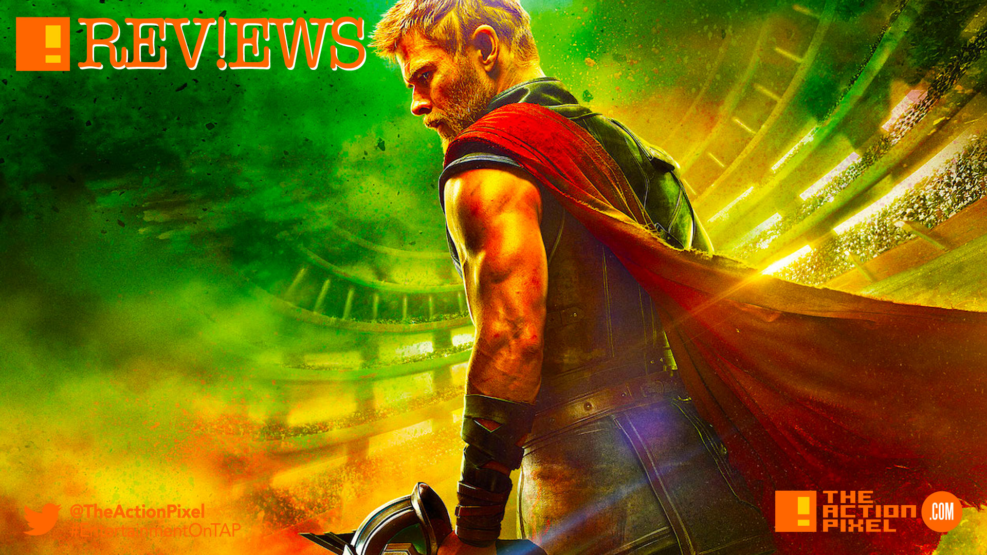 hela, thor ragnarok, hulk, entertainment on tap, the action pixel, marvel comics, mark ruffalo, thor, avengers 3, infinity war, doctor strange, marvel studios, tv spot, mjolnir,review, tap reviews, film review, movie review,cate blanchett,tessa thompson , valkyrie