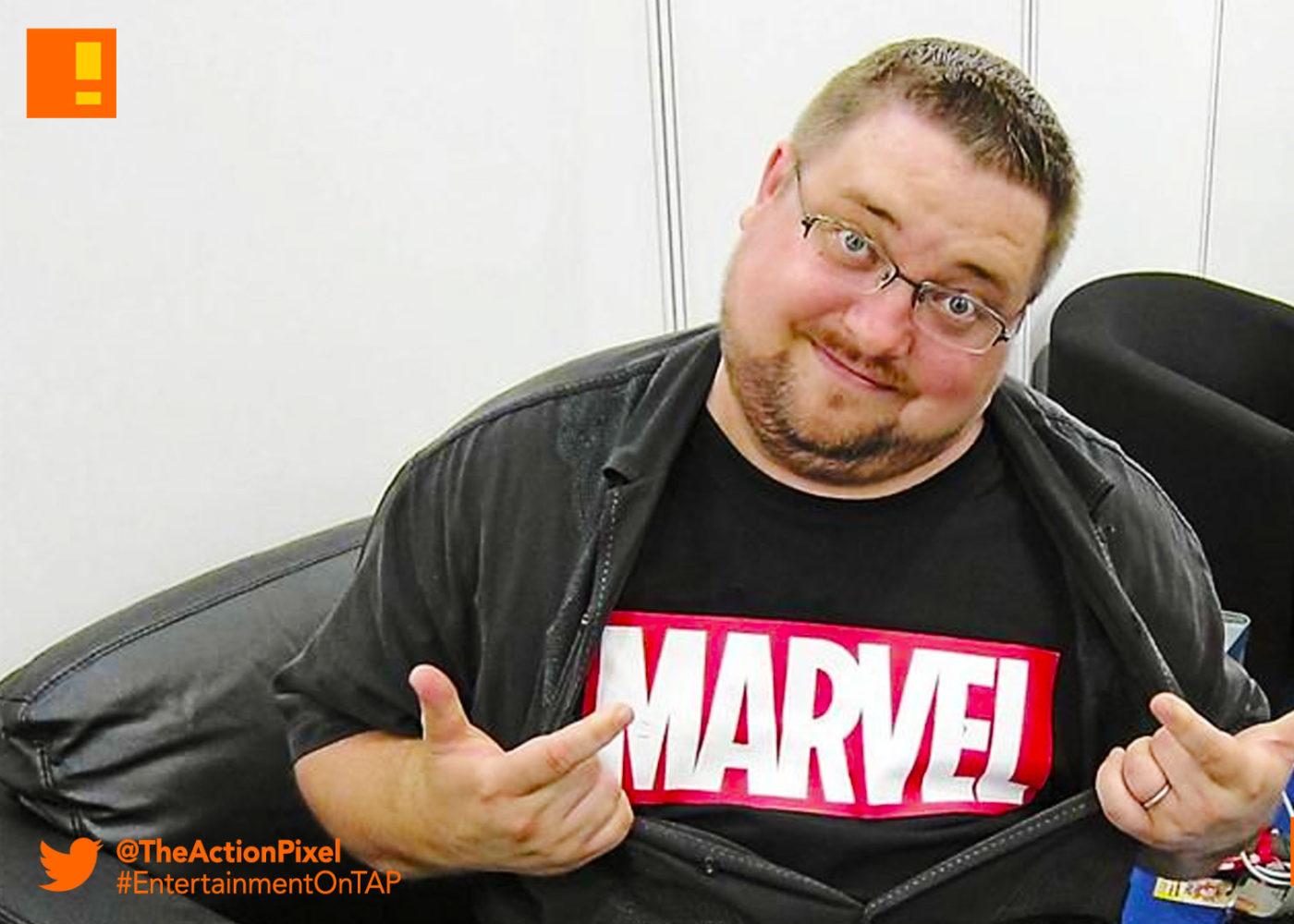c.b. cebulski, marvel,eic, the action pixel, entertainment on tap, marvel, marvel comics,