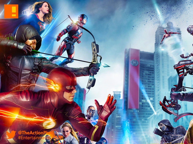 crisis on earht x, the cw, the cw network, dc comics , earth x, green arrow, the flash, kid flash,entertainment on tap, the action pixel,