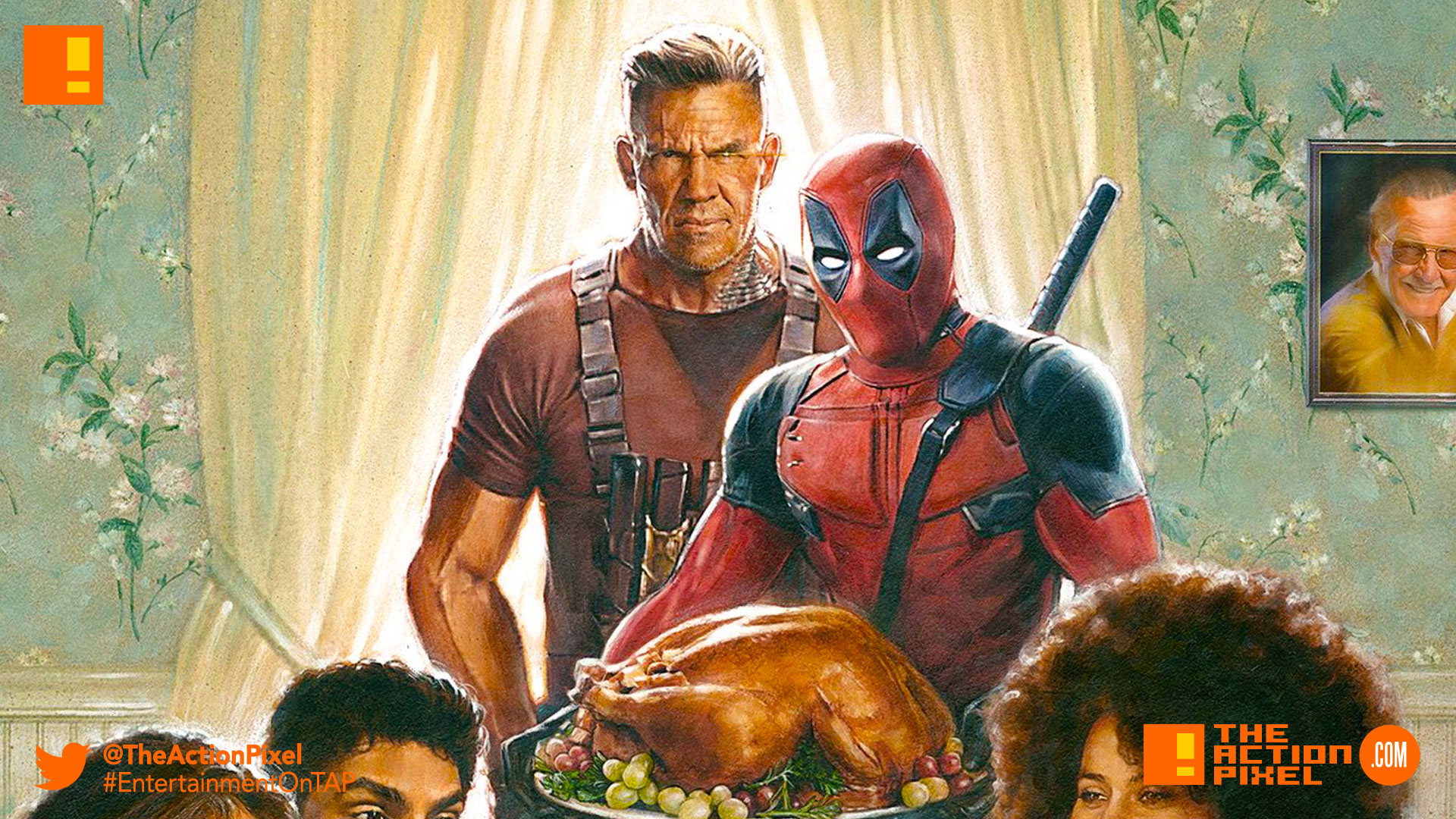 deadpool, deadpool 2,deadpool 2, entertainment on tap,deadpool, deadpool 2, marvel, 20th century fox, the action pixel, entertainment on tap,poster