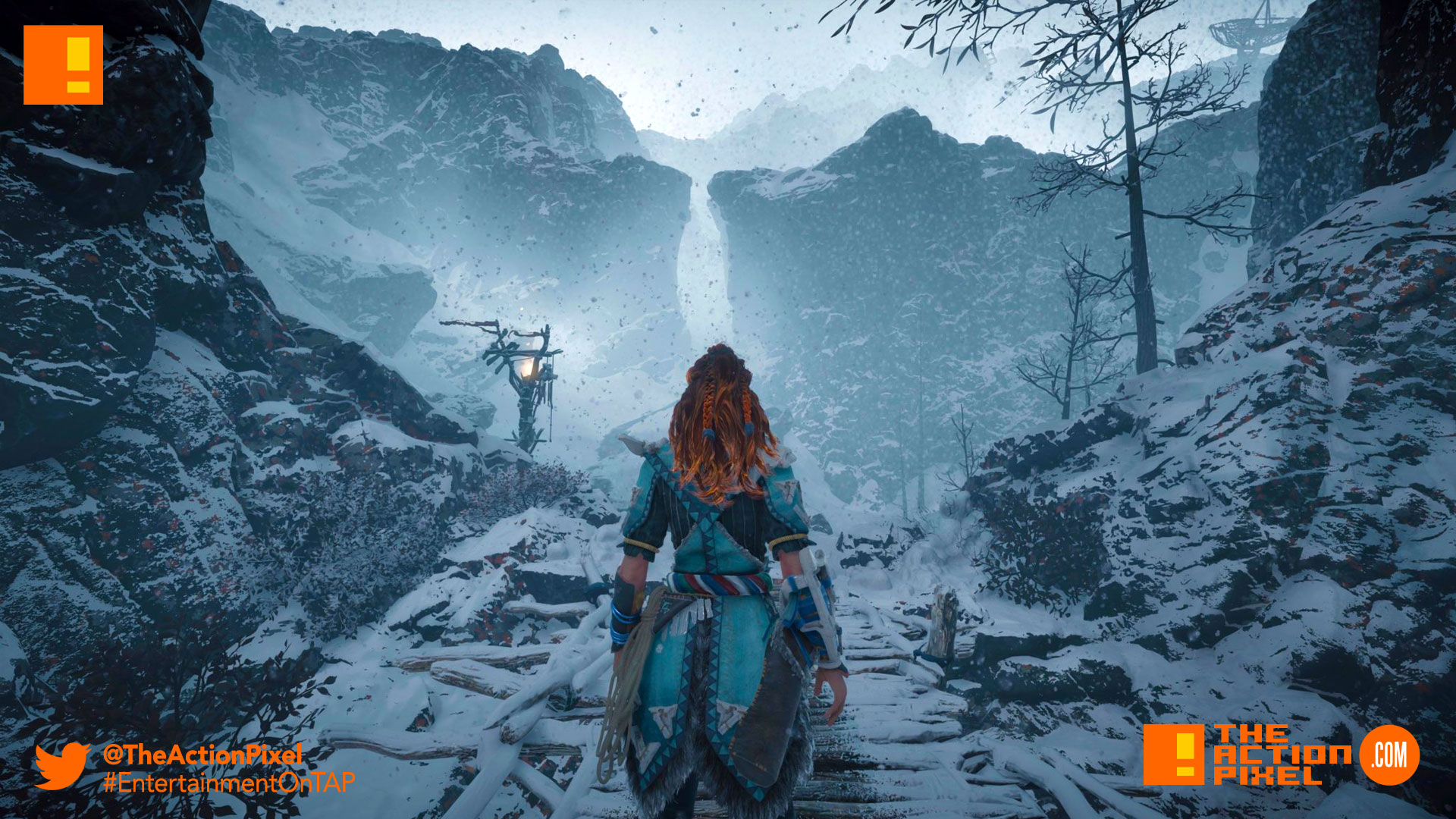frozen wilds, horizon zero dawn, cinematic, story trailer, trailer, killzone, aloy, entertainment on tap , the action pixel, horizon zero dawn: the frozen wilds,