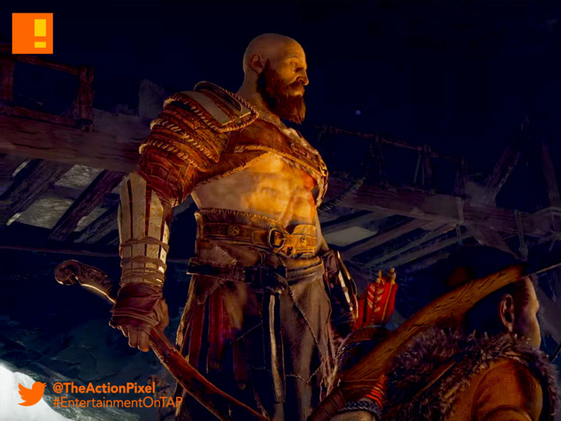 kratos, god of war, the action pixel, entertainment on tap, god of war, kratos, santa monica, the action pixel, norse, entertainment on tap,e3, e3 2017, electronic entertainment expo,pgw 2017 ,paris games week, playstation paris games week, the action pixel, gameplay,