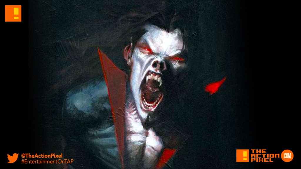 morbius, sony, marvel, spider-man, spider man, morbius the living vampire, vampire, plasma, blood, marvel comics, marvel entertainment,the action pixel, entertainment on tap,