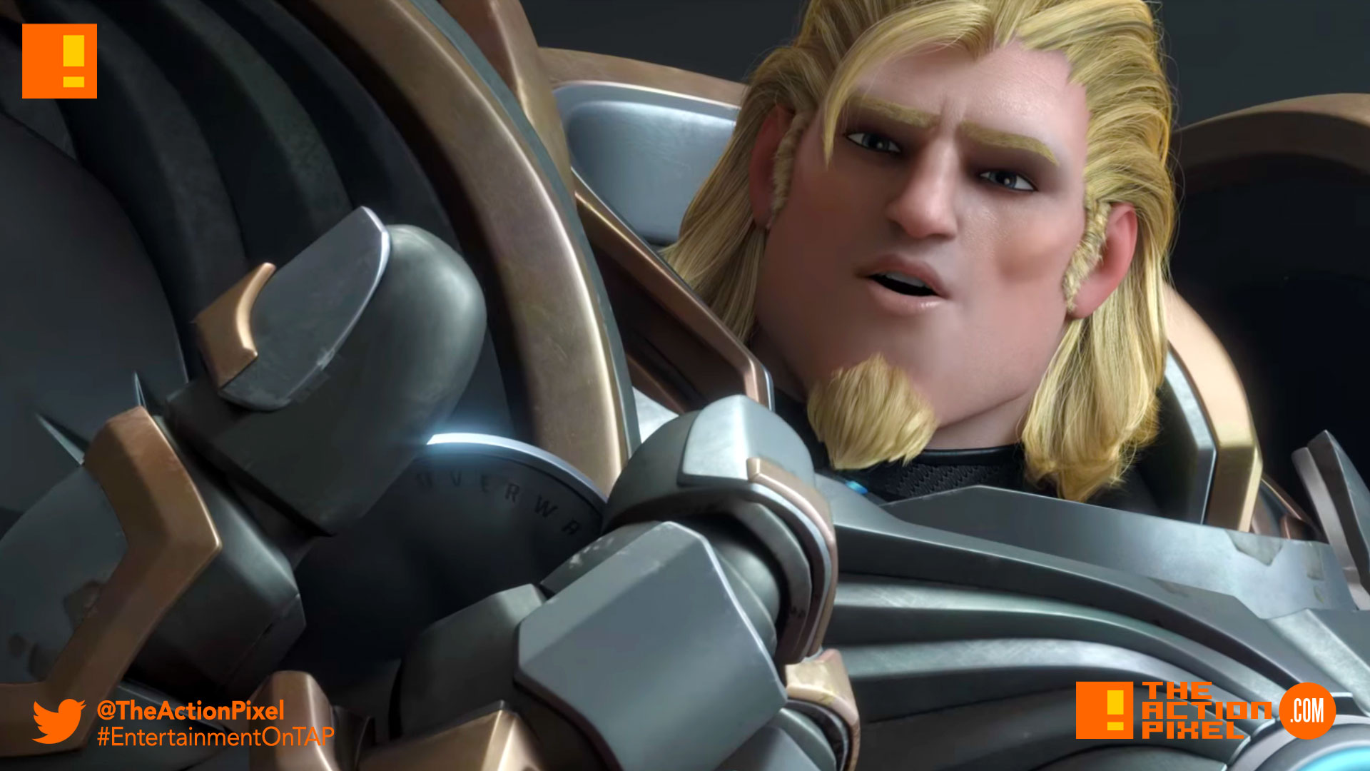 reinhardt, overwatch, blizzard entertainment, blizzard, the action pixel, entertainment on tap, @theactionpixel