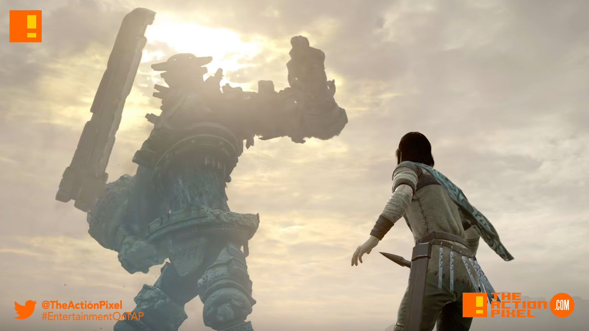 shadow of the colossus, the action pixel, japan studio, entertainment on tap,