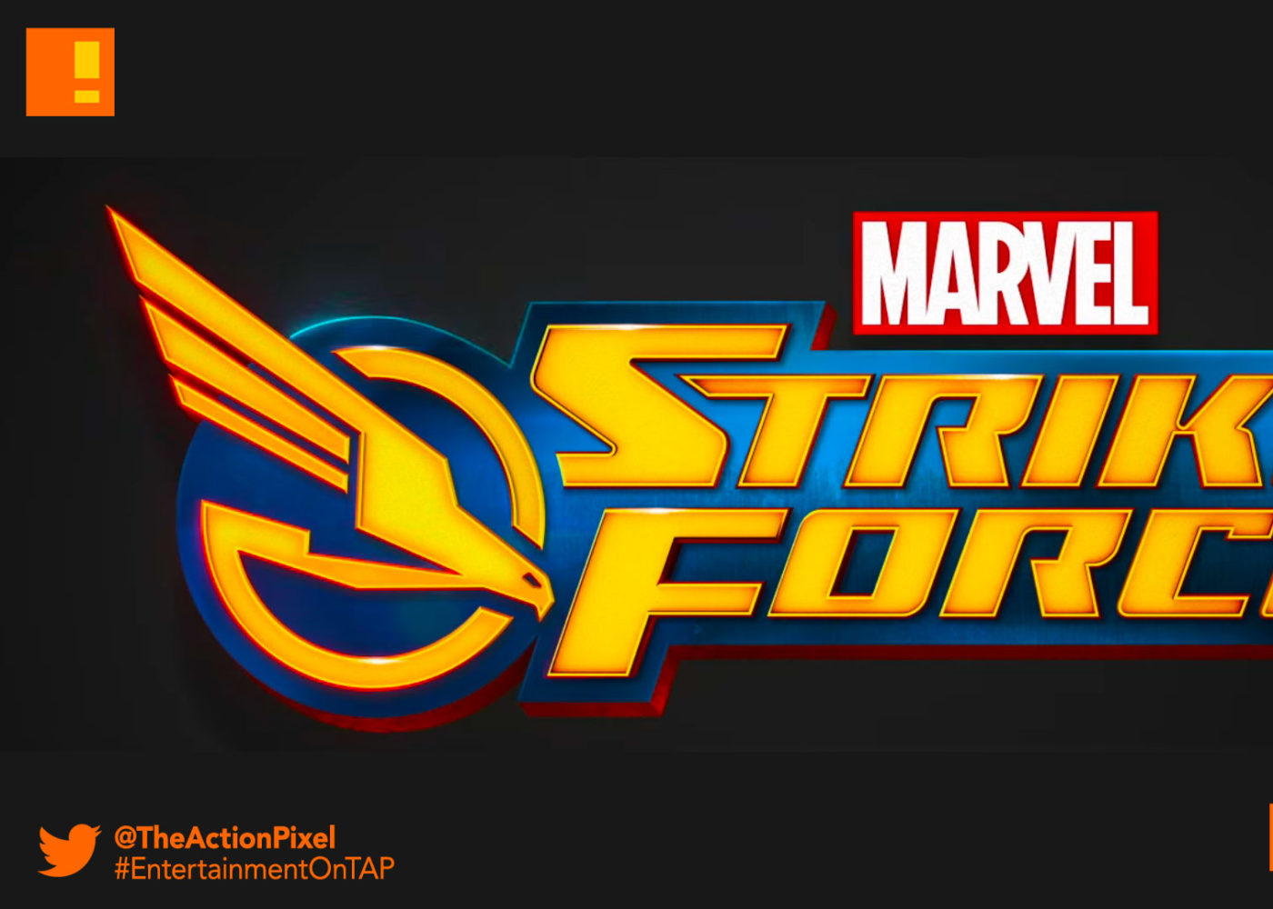 marvel's strike force, marvel, the action pixel, entertainment on tap, marvel game, foxnext games, entertainment on tap, the action pixel,