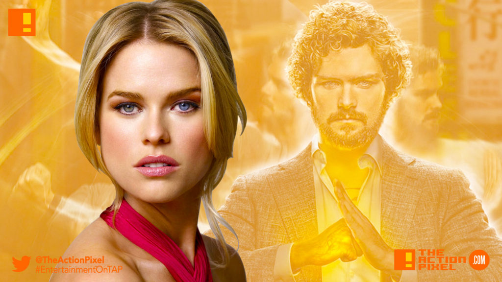 alice eve, iron fist, marvel, netflix, marvel comics, casting, iron fist season 2, iron fist 2, k'un-lun, the action pixel, entertainment on tap, star trek , star trek: into darkness