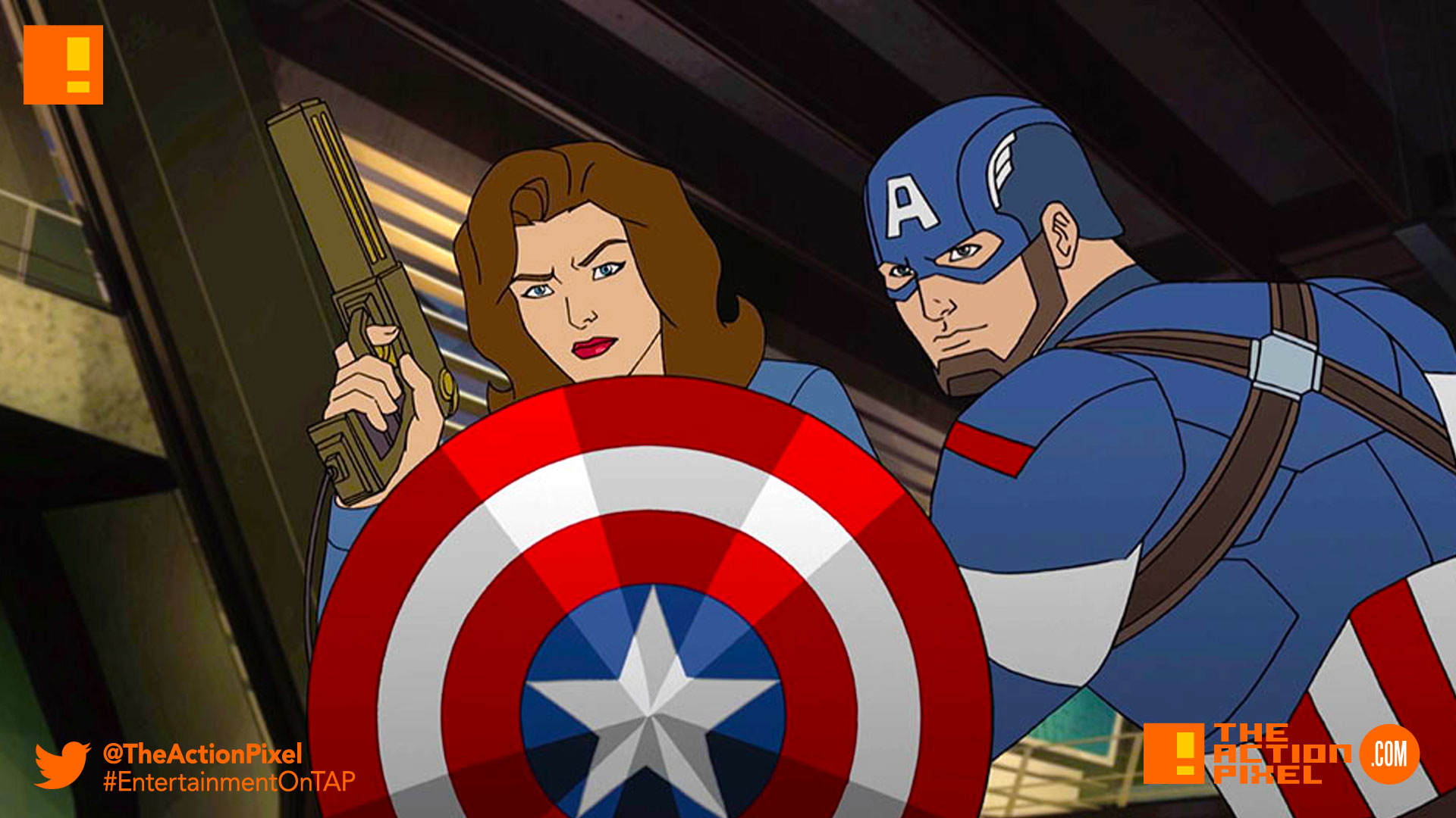 captain america, hayley atwell,peggy carter, secret wars, marvel, secret wars, marvel's avengers: secret wars, avengers: secret wars, avengers secret wars, captain america, disney xd, disney,