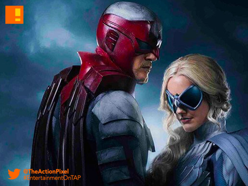 dove, hawk, Hank Hall, minka kelly, Alan Ritchson, dawn granger, the action pixel, titans, dc comics, dc entertainment,entertainment on tap,,first look,