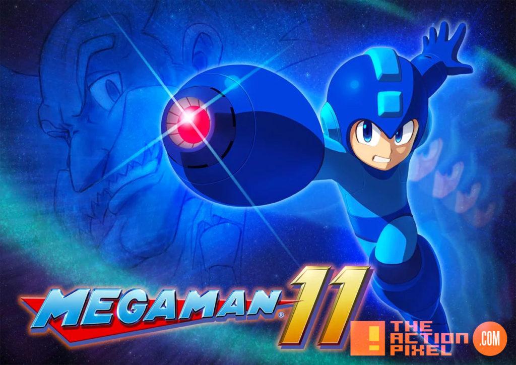 mega man, mega man 11, capcom, twitch, the action pixel, entertainment on tap,