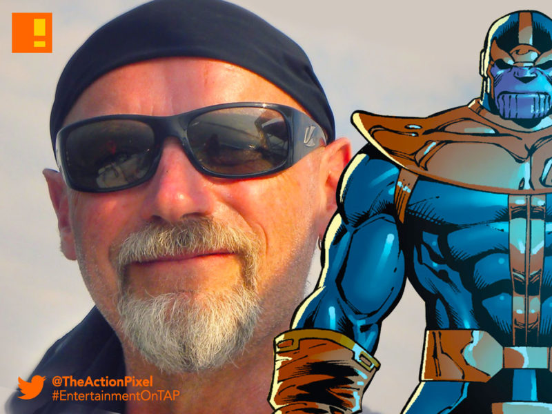 starlin, marvel, thanos, jim starlin, marvel comics, entertainment on tap, the action pixel,
