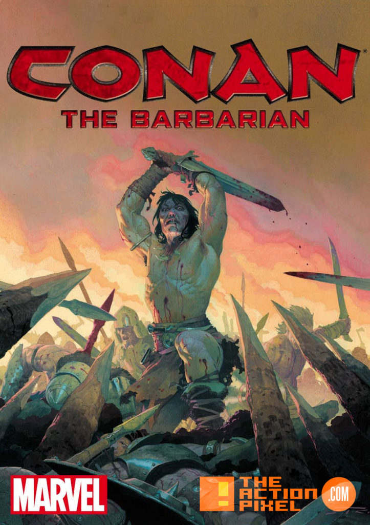 conan, conan the barbarian, savage sword, marvel comics, marvel, entertainment on tap, the action pixel,