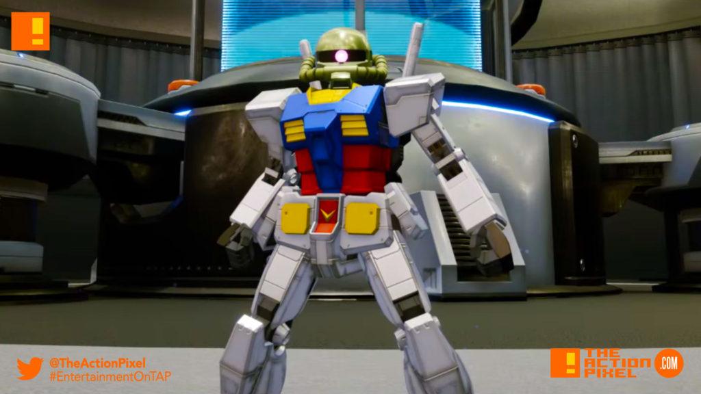 New Gundam breaker, gundam, bandai namco, bandai namco entertainment , the action pixel, entertainment on tap