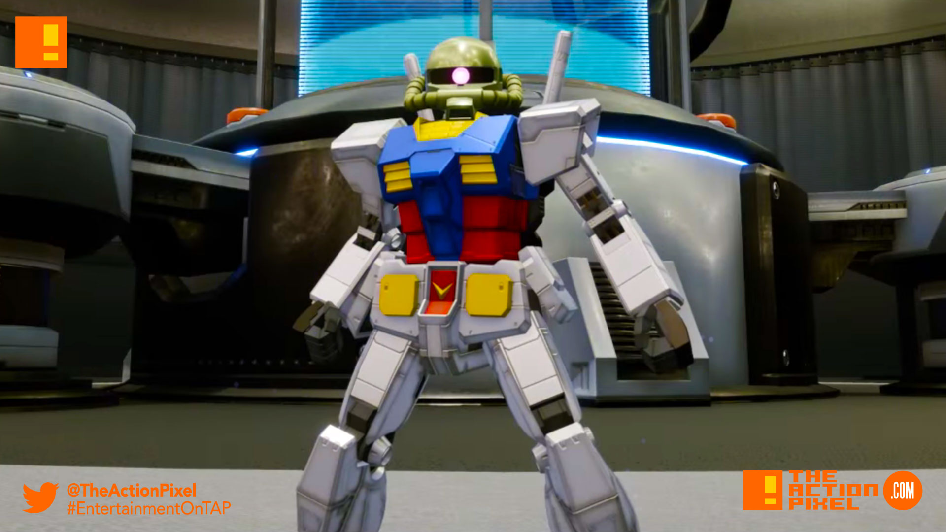 Gundam breaker, gundam, bandai namco, bandai namco entertainment , the action pixel, entertainment on tap