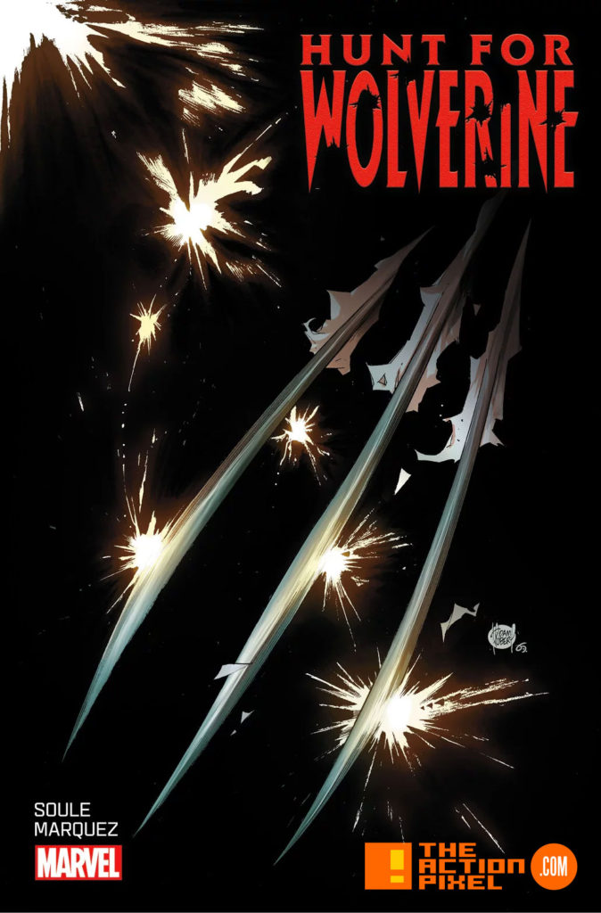 hunt for wolverine, wolverine , marvel, the action pixel, entertainment on tap, comic book, variants, variant cover, cover art,
