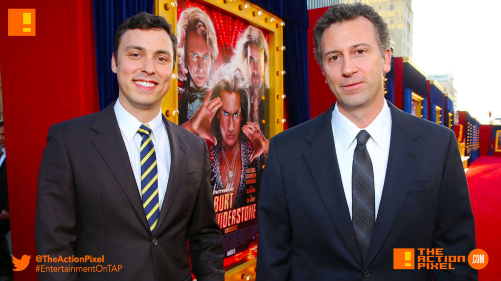 john francis daley, jonathan goldstein, the action pixel, entertainment on tap