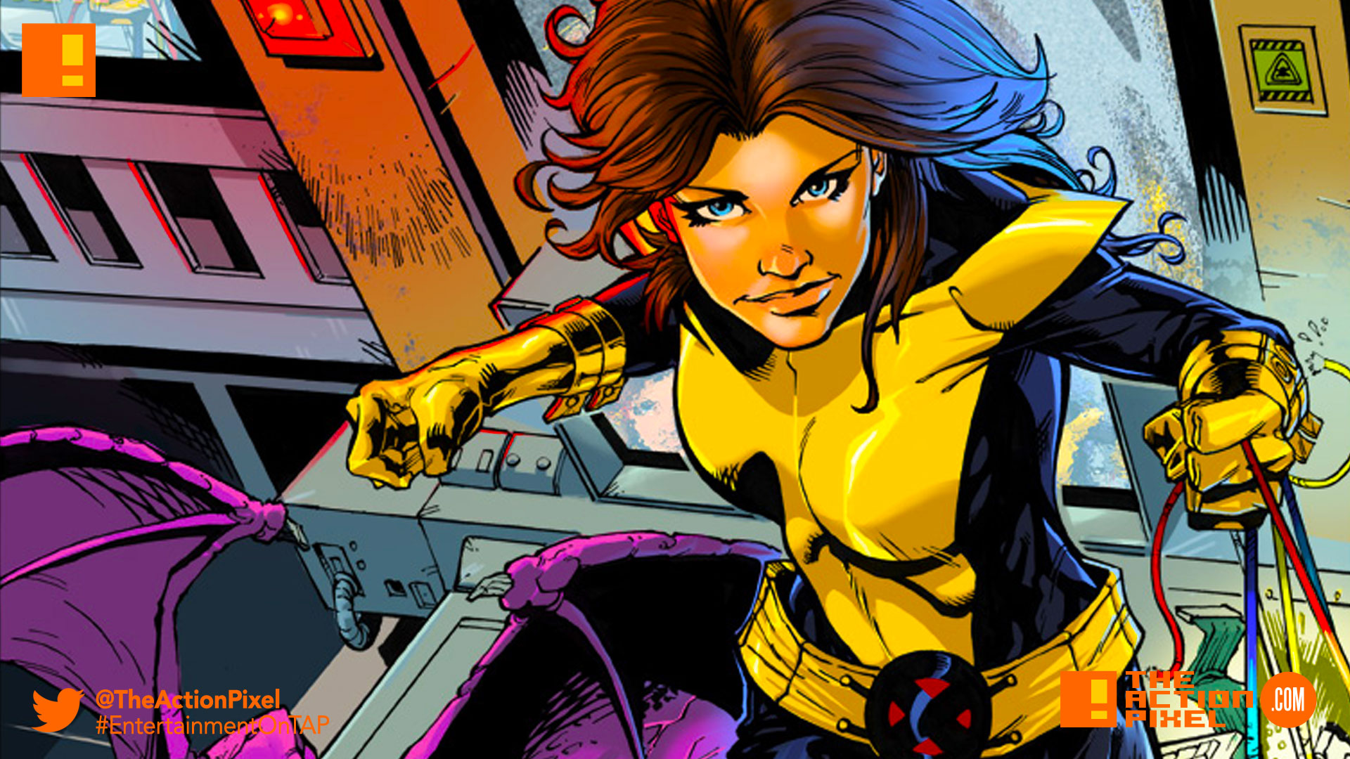 kitty pryde, fox, tim miller, 20th century fox, marvel,x-men, the action pixel
