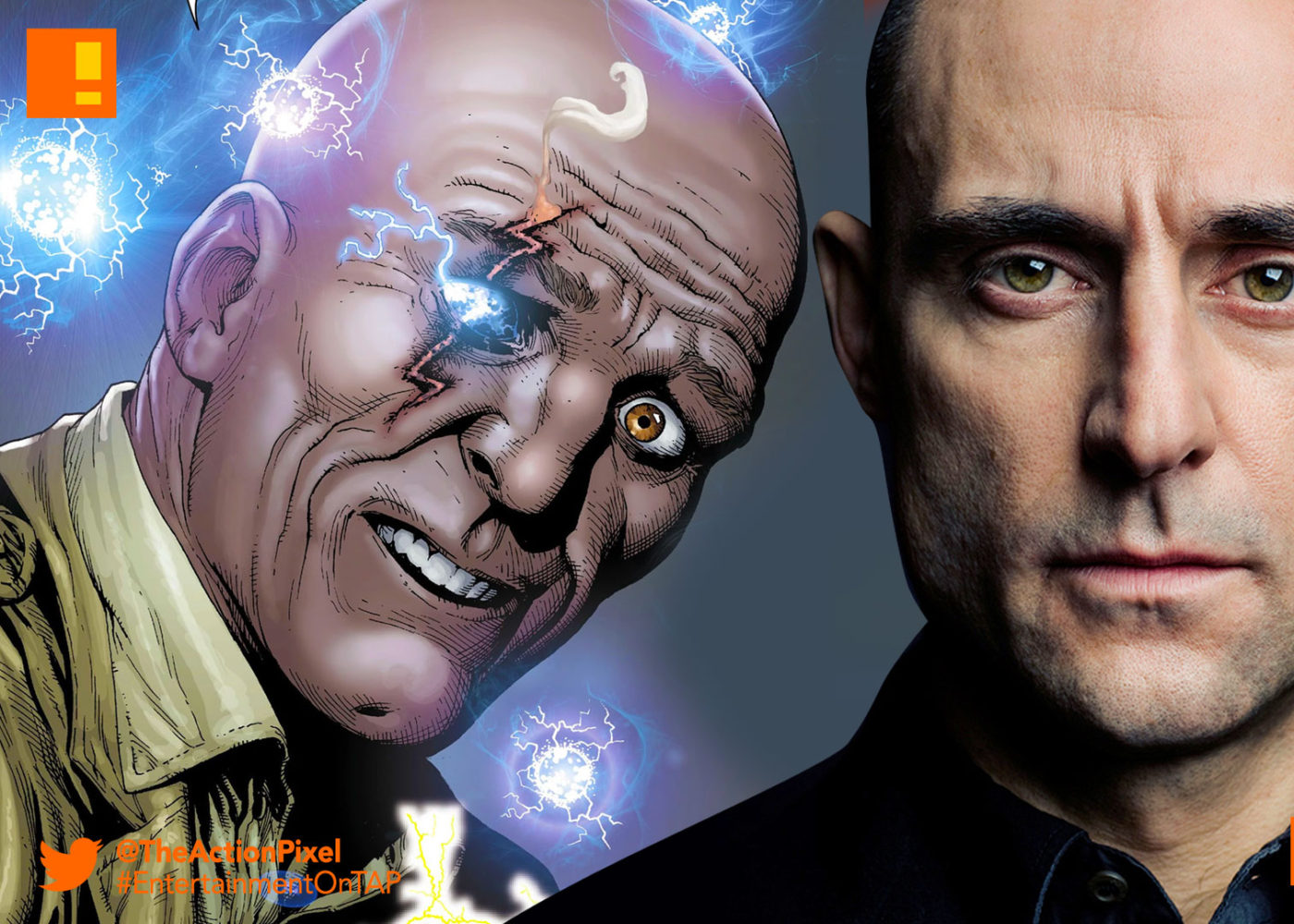 Mark Strong Is Dr Sivana In DCs Shazam Movie